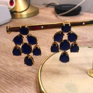 Kate spade ♠️ Blue sapphire dangling earrings